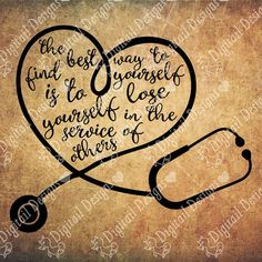 Stethoscope Heart SVG Stethoscope Love png by DigitailDesigns