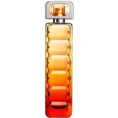 HUGO BOSS BOSS Orange Sunset eau de toilette ($74) ❤ liked on Polyvore featuring beauty products, fragrance, perfume, beauty, makeup, filler, eau de toilette perfume, flower perfume, edt perfume and hugo
