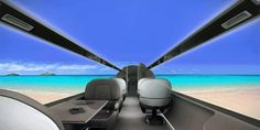 windowless plane of the future