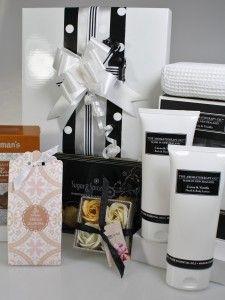 Cocoa & Vanilla : another popular gift hamper idea. Have it delivered to her door.