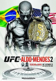 UFC 179 Fightcard