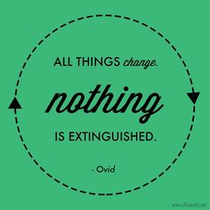 Great #quote from #Ovid. #change