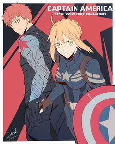 Fate/stay night x Captian America:Winter Soldier
