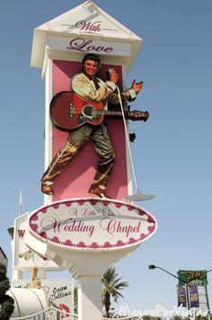 Elvis es la marca insignia de las bodas en Las Vegas