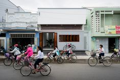 Completed in 2017 in Tuy Phong District, Vietnam. Images by Quang Tran  . The Vietnam South Central Coastal area has long been shaped by one-storey houses, which are simple but glamorous. We are not an exception.  The...