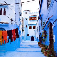 Chefchaouen, Morocco | 29 Instagram-Worthy Places To Travel