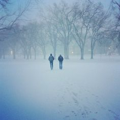Campus is still beautiful when you can hardly see it. Enjoy the snow, enjoy the sun, enjoy life Rams!