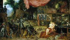 Allegory Of The Sense Of Touch  Jan Brueghel the Elder and Peter Paul Rubens