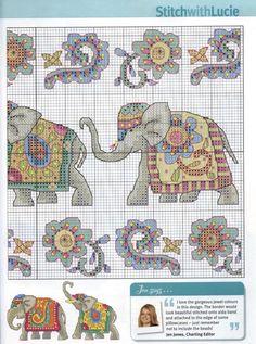 Индийские слоны. Схема 2