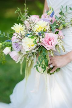 Bridal bouquet inspired by Princess Aurora