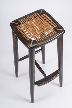 Lace Stool | sam maloof
