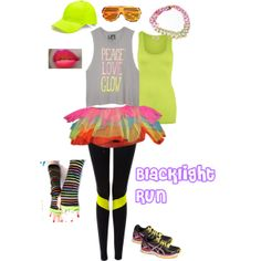 """""""Blacklight Run"""" by erica-williams74 on Polyvore"""
