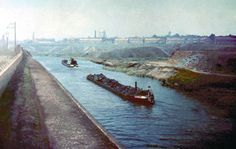working canal barges - Google Search