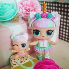 Lovely Unicorn with her lil sister! Do you like her? #lol #lolsurprise #lolsurpriselilsisters #lilsisters #doll #dolls #loldoll #loldolls #collectlol #dollinstagram #dollcollector #dollcollection #dollphoto #dollphotography #dollphotogallery #mgaentertainment #lolsurpriseseries3wave2 #unicorn #uni #pastel #theater #flower #flowers #rose #pink #unicornhair #unicorns #saturday #april #21april