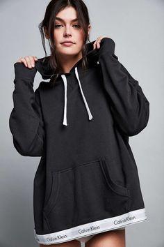 Calvin Klein Modern Cotton Hoodie Sweatshirt - Urban Outfitters