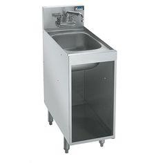 12  Underbar Storage Cabinet with Sink
