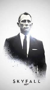 Personally, Daniel Craig is the best James Bond for me. Look at him. He is stronger bolder than any Bonds James Bond Movie Posters, James Bond Movies, Film Posters, Daniel Craig James Bond, 2012 Movie, Movie Tv, James Bond Skyfall, Fanart, Pierce Brosnan