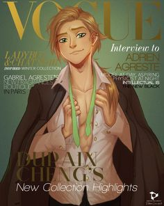 If Adrien was a Vogue model...omg <3