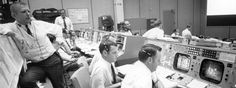 Calm in Crisis: A crisis is when a great leader truly shines.  Pictured here is the Nasa Mission Control in Houston during the Apollo 13 crisis.  It took stable leadership and clear thinking in a fast paced and stressful environment in order to coordinate the dozens of teams involved in bringing our astronauts safely home.