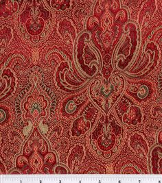 Brocade Fabric-Burgundy-Hunter Tapestry  : special occasion fabric : apparel fabric : fabric :  Shop | Joann.com
