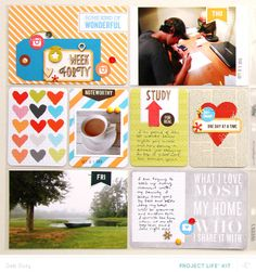 Project Life Week 40 *PL Kit Only* by debduty at @Studio_Calico - love the week card - would work with week 1 2014