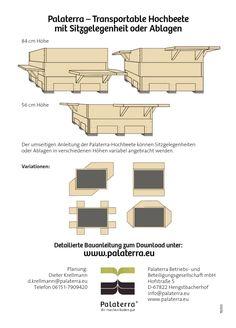 hochbeete bauen auf paletten anleitung von hochbeete pinterest. Black Bedroom Furniture Sets. Home Design Ideas