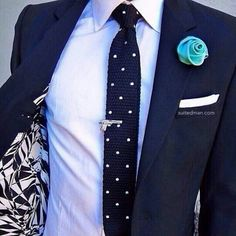 Tonos azules style man