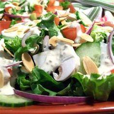 Creamy Garlic Salad Dressing Recipe on Yummly. Creamy Garlic Salad Dressing Recipe, Salad Dressing Recipes, Salad Recipes, Healthy Recipes, Salad Dressings, Dip Recipes, Sexy Bikini, Great Recipes, Meals