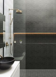 30 Amazing Small Bathroom Wall Tile Ideas To Inspire You - Wall Art