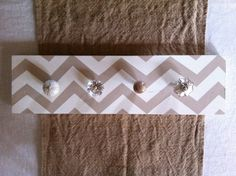 coat rack made with old door knobs - Google Search
