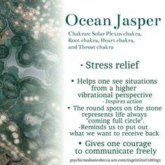 Ocean Jasper crystal meaning