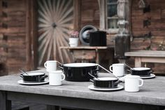 my favoruite lists Enamel Pan, Pot Lids, Steel Plate, Teller, Coffee Maker, Plates, Dishes, Cooking, Tableware