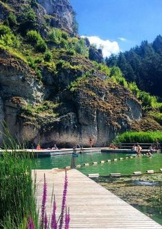 DAS are the 10 most beautiful bathing lakes and outdoor pools in Germany - Nature Camping Glamping, Camping Hacks, Germany Travel, Science And Nature, Outdoor Pool, Places To See, Travel Tips, Earth, Vacation