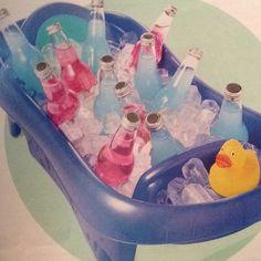 Original idea para decorar tu fiesta Baby Shower #babyshower #decoracion