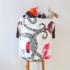 XXLarge Fabric Basket Laundry Hamper Toy Storage by LoveJoyCreate, $98.00