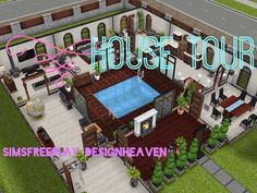 Sims Freeplay House Tour // Square Home