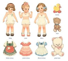 Remind me of my mom... she loves paper dolls...