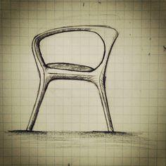 Furniture Design Sketch #designer #sketch #chairdesign #furnituredesign  #industrialdesign #productdesign #