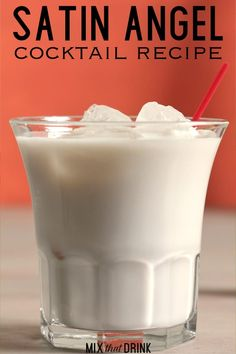 The Satin Angel drink recipe blends cream with Frangelico and a dash of cola over ice. It's sweet and unique, and very light on the alcohol. Sweet Mixed Drinks, Mixed Drinks Alcohol, Blended Drinks, Alcohol Drink Recipes, Mix Drink Recipes, Alcohol Mixers, Frozen Drink Recipes, Alcohol Bar, Shot Recipes