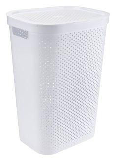 Coș de rufe INFINITY plastic alb | JYSK Laundry In Bathroom, Olsen, Infinity, Oscars, Dress, Academy Awards, Infinite, Ulsan