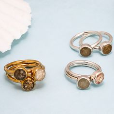 Stacker Rings by Dune Jewelry