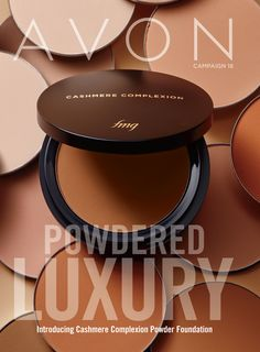 Brochure Online, Avon Brochure, Brochure Cover, Online Shopping, Avon Catalog, Avon Online, Avon Representative, Powder Foundation, Makeup Foundation
