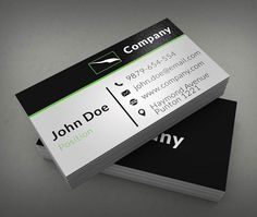 Modern electronic business card templates suitable for any kind of clean corporate business card template reheart Gallery