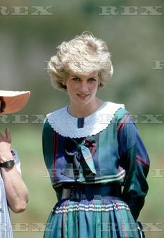 Princess Diana visits Rotamah Island on the Gippsland Lakes in Eastern Victoria during her Royal Tour of Australia Oct 1985