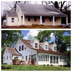Before and After Farmhouse Renovation | Content in a Cottage