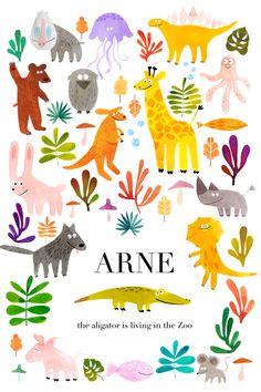 Arne lebt im Zoo on Behance
