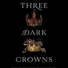 #newyear #newestbook #threedarkcrowns #readingphotochallenge #bookphotochallenge #virtualbookclub #booksandcupcakes @bonniebellefleur