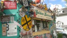 This past Weekend travels brought me to Lansing. My Wife had heard about this great breakfast place in Old Town Lansing called, Golden Harvest.