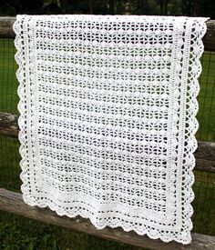 """I bought way too much of this Classic Elite (Pebbles) cottony white yarn, and I knew that if I didn't do something soon, it would join countless other skeins (referred to as my """"stash"""") that wait p..."""