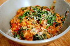 Smitten Kitchen: Tomato and Sausage Risotto